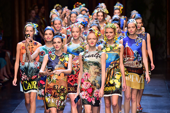 Dolce-and-Gabbana-SS16 around the world prints launchmywear.com