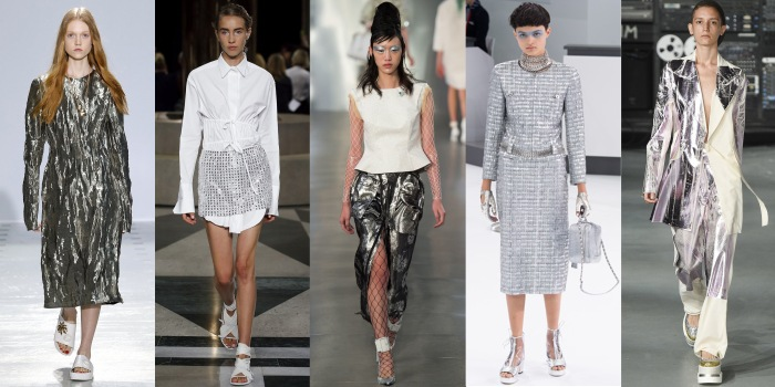 Futuristic silver trend 2016