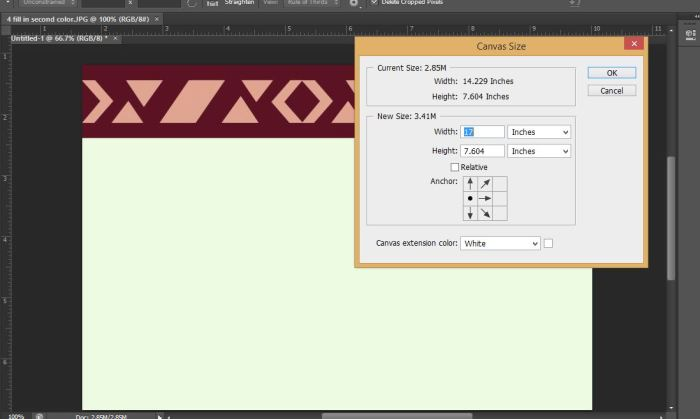 5 canvas tool photoshop making tribal print how to