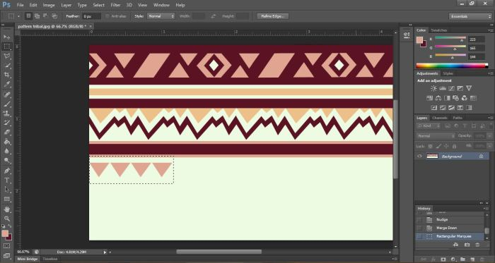 copy and paste tribal print