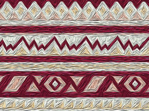 photoshop paint tribal print how to