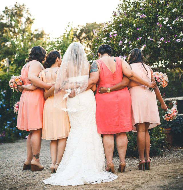 peach coral bridesmaid dresses custom sizing plus size bridesmiad dresses