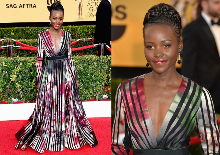 sad awards lupita-nyong look for less