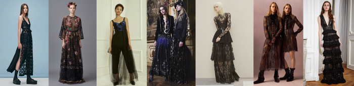 Dark romance 2016 trends, 2016 fashion trends, pre-fall 2016