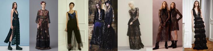 Dark romance 2016 trends, 2016 fashion trends, pre-fall 2016