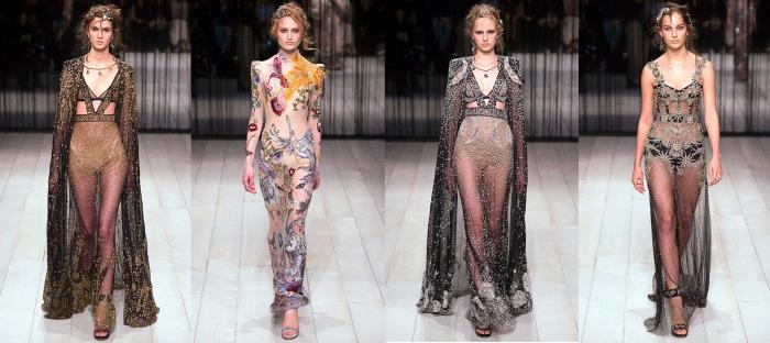 Alexander McQueen 2016 show, fall 2016 fashion trends