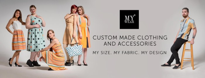 MYWEAR CUSTOM MADE design your own clothing custom clothing site