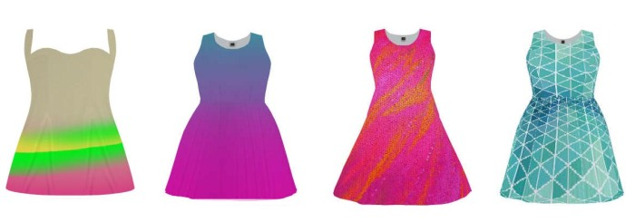 spring custom dresses
