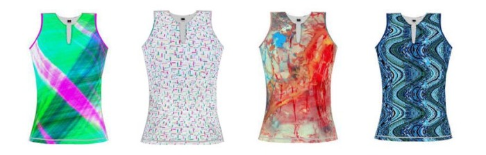 spring graphic tanks
