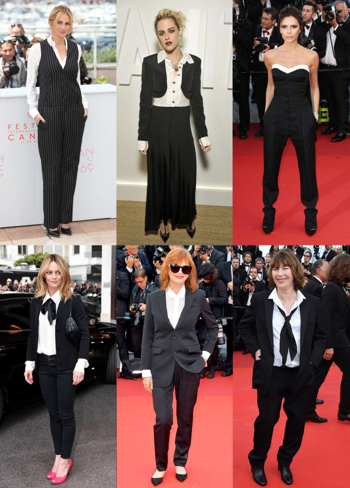 2016 fashion trends cannes black and white