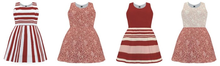 dresses red blush design your own dress, make your own dress