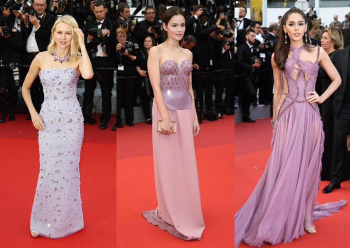 2016 cannes fashion trends lilac