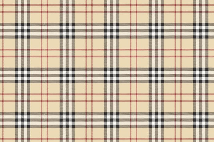 burberry plaid a list of prints