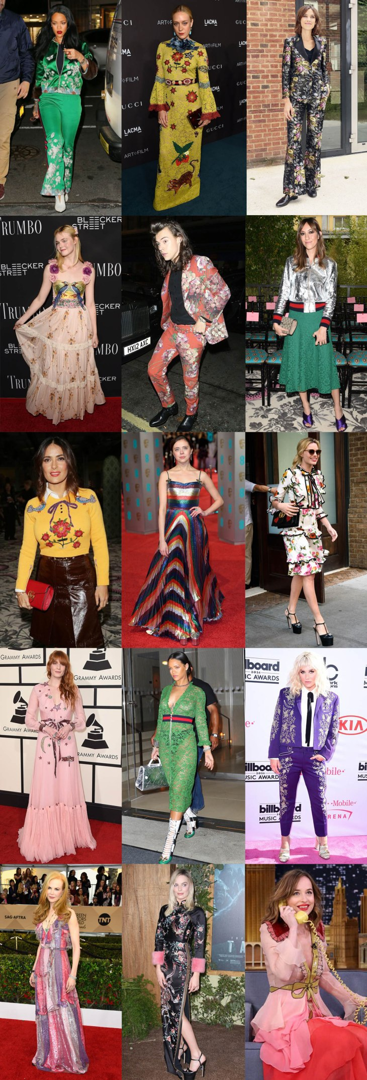 celebrities 2017 trends gucci