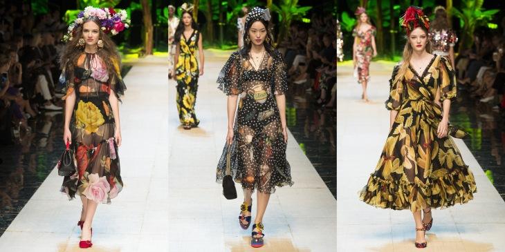 dolce gabbana spring 2017 fashion week